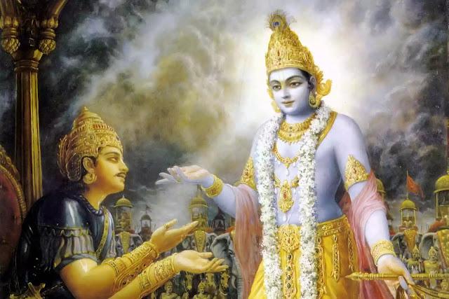 Arjuna, shree krishna, Inspirational stories in hindi, short stories in hindi, mythological stories in hindi