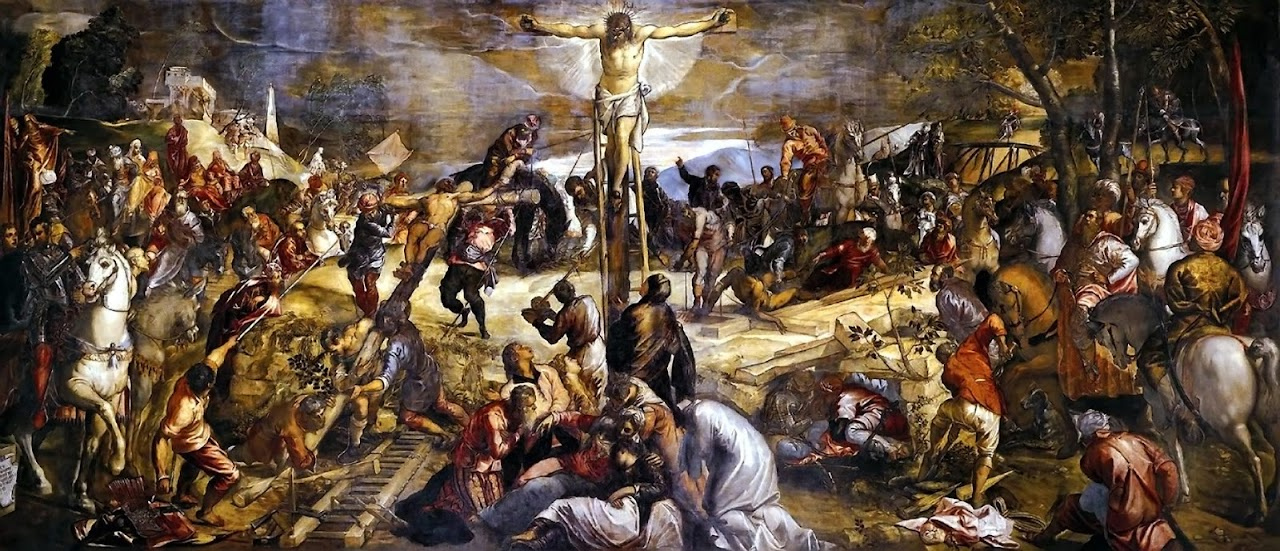 The Crucifixion, by Tintoretto (1565)