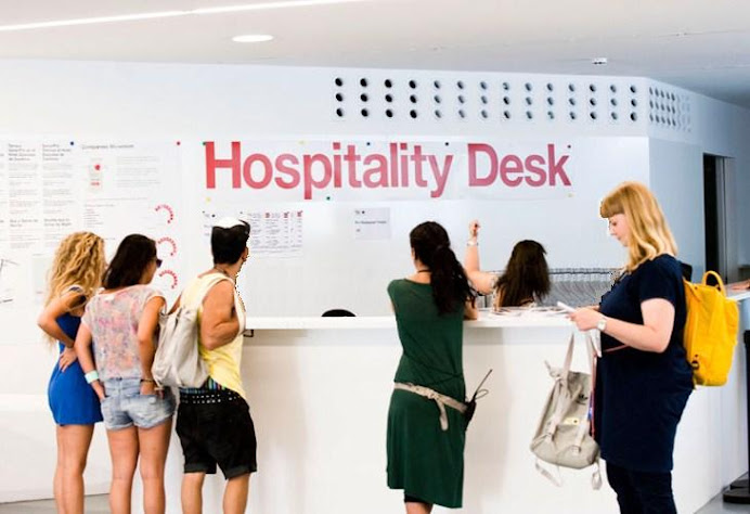 Hospitality desks