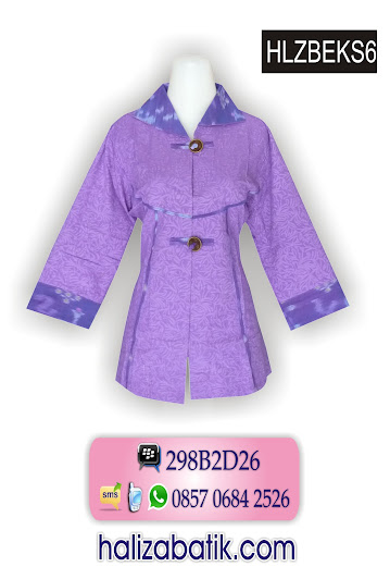 grosir batik pekalongan, Baju Batik Modern, Grosir Batik, Model Busana