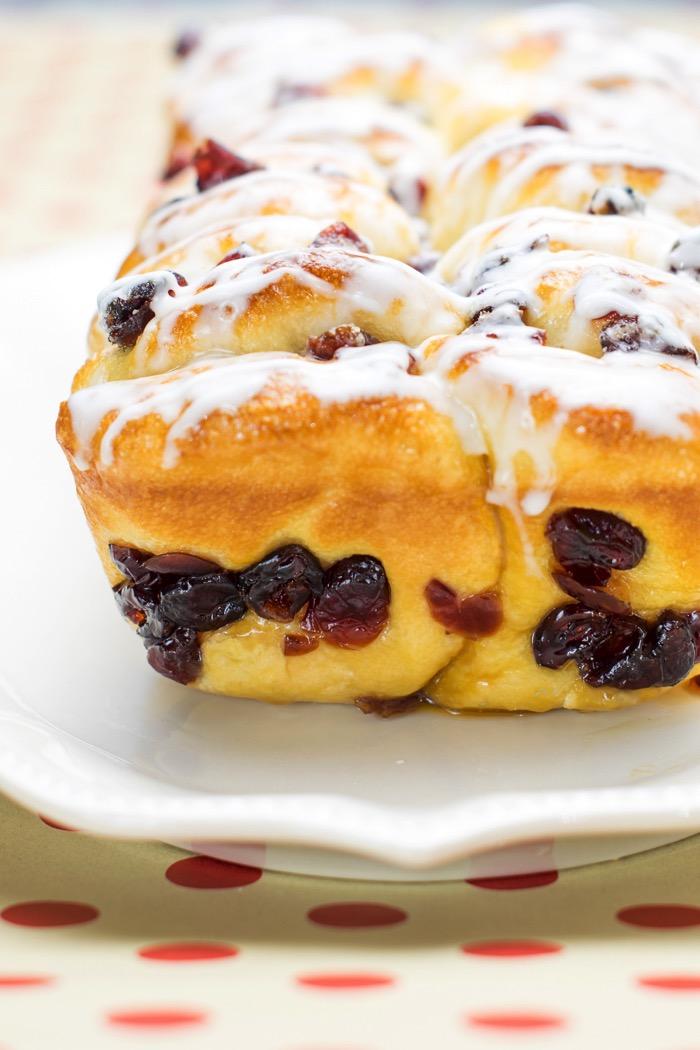 Cranberry Orange dessert bread