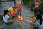 v tom strašném suchu jediné bezpečné místo pro oheň