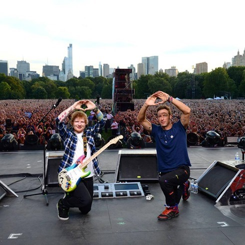 Coldplay 2015 Global Citizen Festival-40