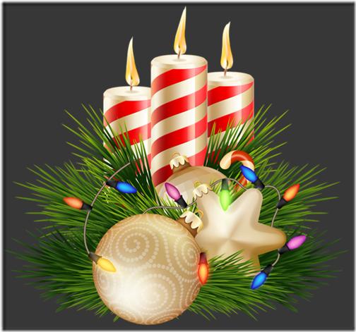 fotos velas de Navidad (14)