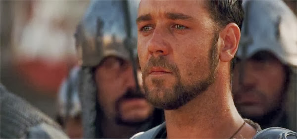 Screen Shot Of Hollywood Movie Gladiator (2000) In Hindi English Full Movie Free Download And Watch Online at Alldownloads4u.Com