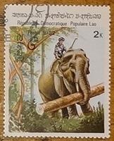 timbre Laos 011