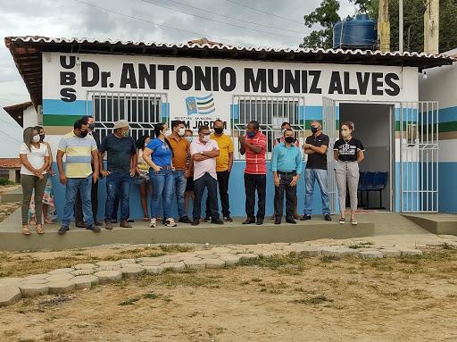 Prefeita Cristiane Varão entrega Unidade Básica de Saúde Dr. Antônio Muniz Alves totalmente reformada aos moradores do Povoado Tirirical.