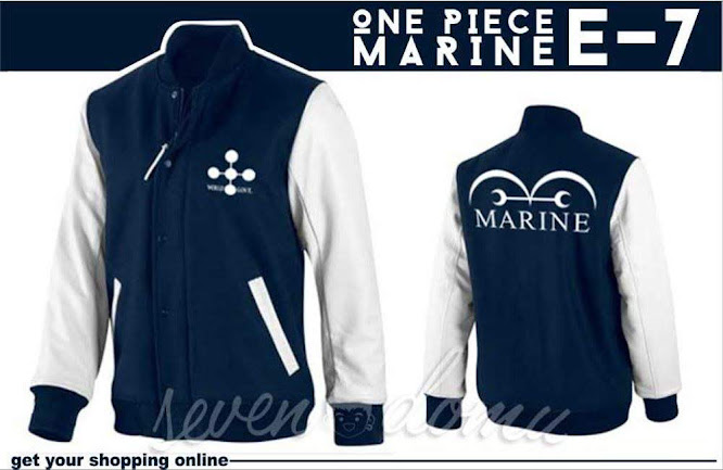 seven domu e7 jaket anime one piece marine