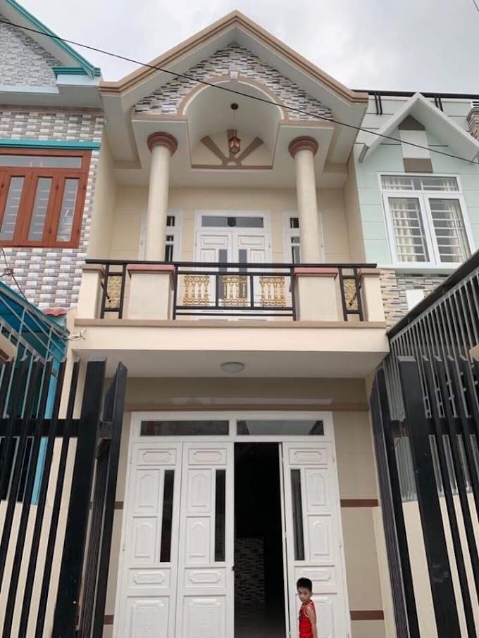 Chính chủ cần bán căn nhà lầu trệt sổ riêng ở gần chợ Tân Long, Tân Đông Hiệp, Dĩ An, Bình Dương.