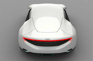 Audi concept car that changes colour