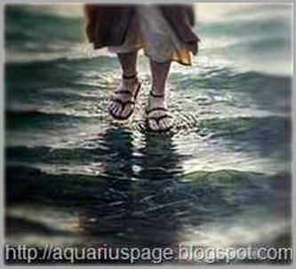 Jesus andando nas águas foi um exemplo clássico de levitação.