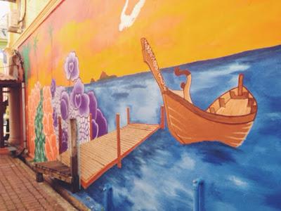 Chinatown Wall Mural