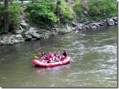 Raft on the Nantahala River