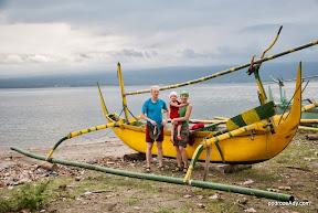 Tradycyjna balijska łódź