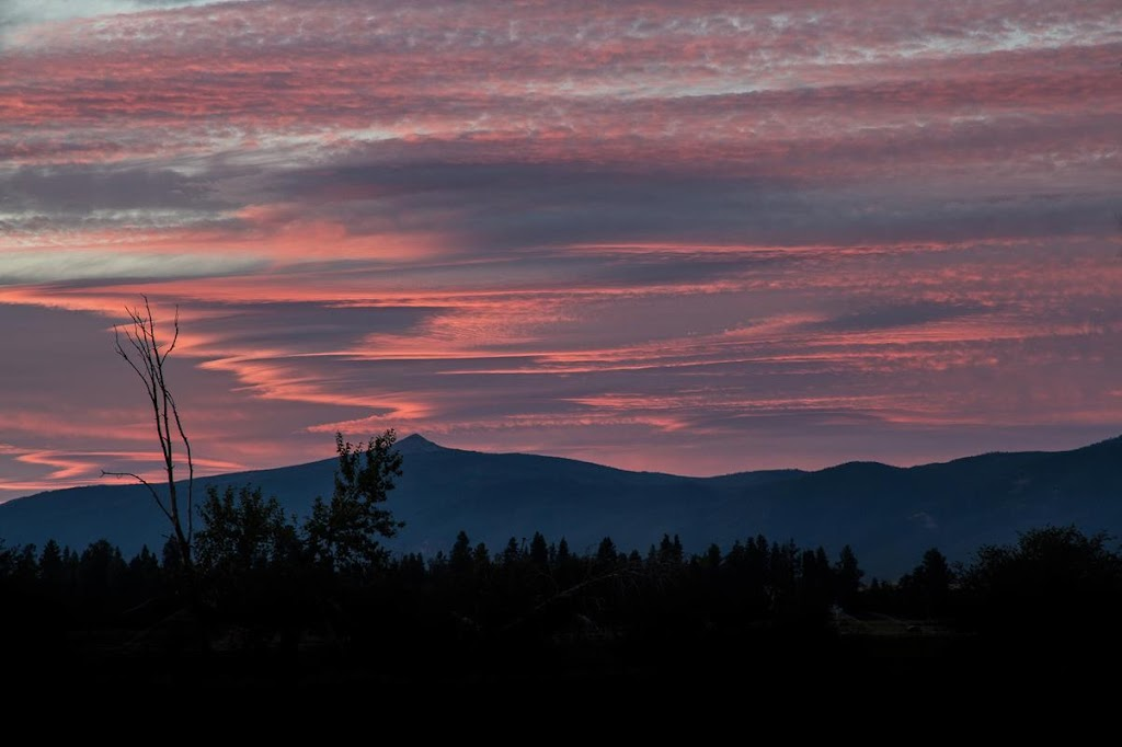 Ch-paa-qn Peak Sky Scribble Missoula, MT © Mark Mesenko. Prints available at www.mesenko.com