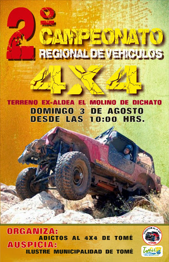 2° Campeonato Regional de Vehículos 4x4 AFICHE%2525204X4_WEB