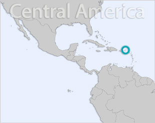 British Virgin Islands location map