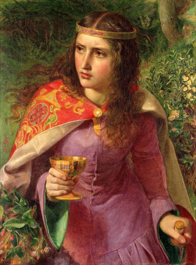 Frederick Sandys - Queen Eleanor