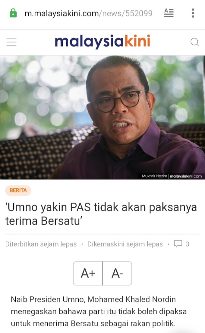 Perangai Melayu Yang Kononnya Perjuangkan....