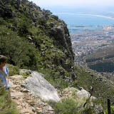 The view from the hike up Table Mountain