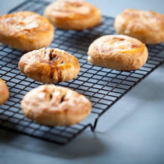 Cherry Eccles cakes.