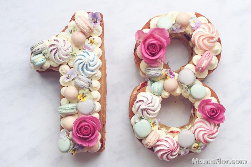 Number Cakes: ¡Las más lindas tortas!