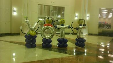 Photo: Smiley alphabets-VOTE