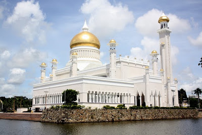 Mosque in Bandar Seri Begawan in Brunei