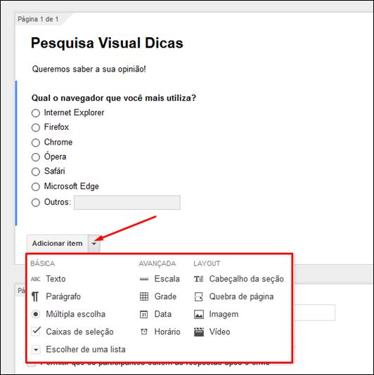 Como criar formulários de pesquisas no Google Docs - Visual DicasComo criar formulários de pesquisas no Google Docs - Visual Dicas