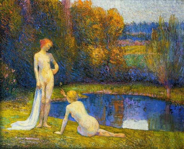 Hippolyte Petitjean - Bathers