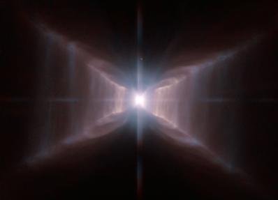 estrela HD 44179 e Nebulosa do Retângulo Vermelho