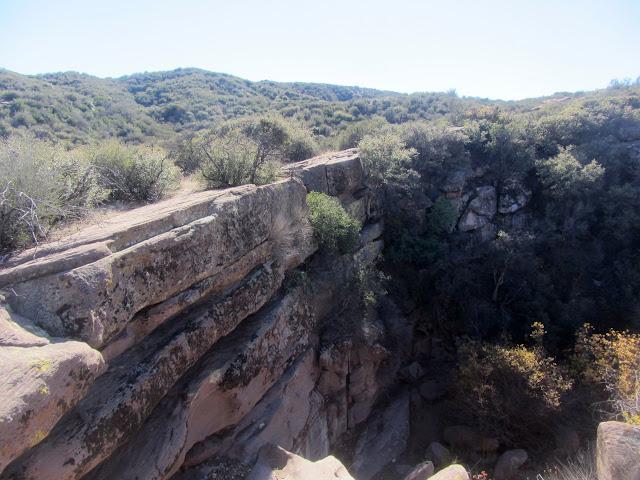 short cliff