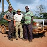 Pont sur la rivière Tano River : Jan Flindt Christensen, Henrik Bloch et Peter Nikoii Kotei. Ghana, 15 décembre 2013