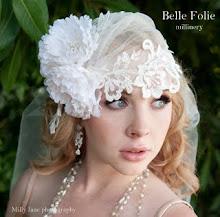 Petal cap with veil