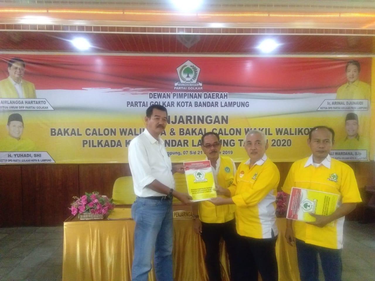 Arifin Sebut Dibawah Kepemimpinan H.Riza Mirhadi Kota Bandar Lampung Akan Jadi Ibukota Provinsi Lampung Yang Aman, Maju, Mandiri dan Sejahtera