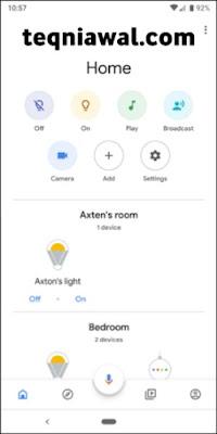 Google Home - أفضل تطبيقات أندرويد 2022