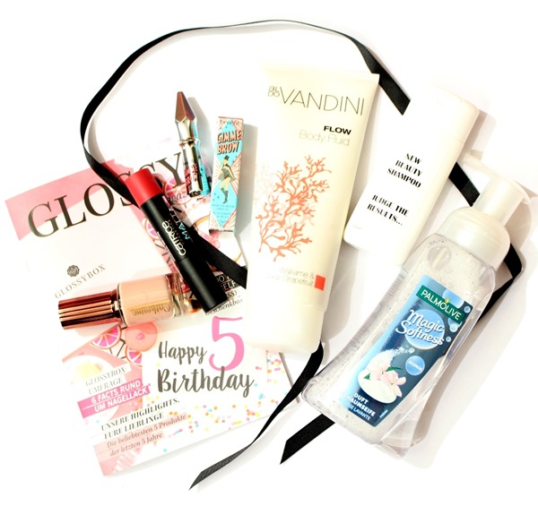 GlossyboxHappy5thBirthdayEditionJuli2016_1