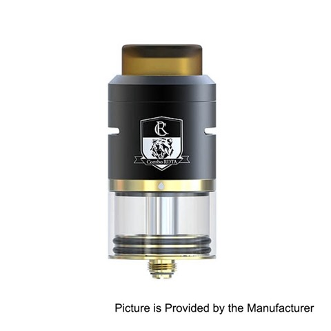 authentic-ijoy-combo-rdta-ii-rebuildable-dripping-tank-atomizer-black-stainless-steel-65ml-25mm-diameter