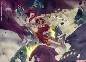 Erza Scarlet vs 100 Monster