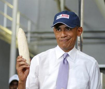 obama corn cob