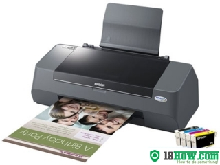 How to Reset Epson C90 laser printer – Reset flashing lights error