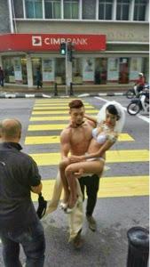 3 FOTO SEPARUH BGL Identiti Terlampau Pengantin Dan Model Perempuan Tidak Berbaju Mula Didedahkan TINDAKAN