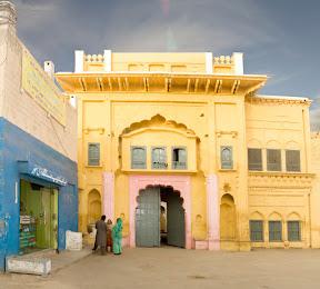 Main gate of  Gurdwara Patti Sahib , Nankana Sahib
