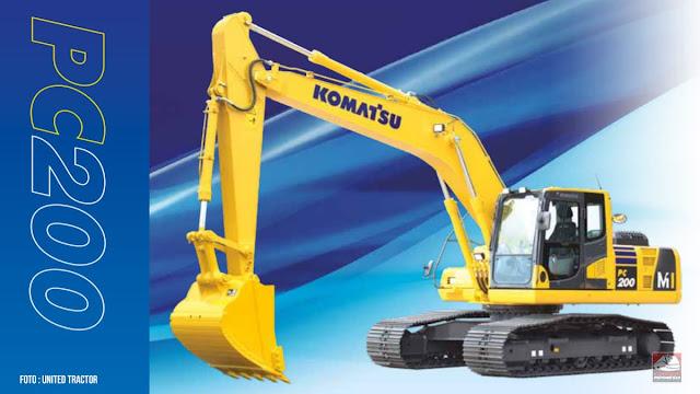 Komatsu Excavator 20 Ton