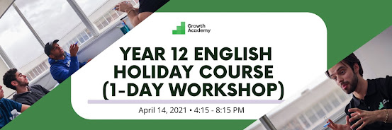 Year 12 English Holiday Course (1-day workshop)