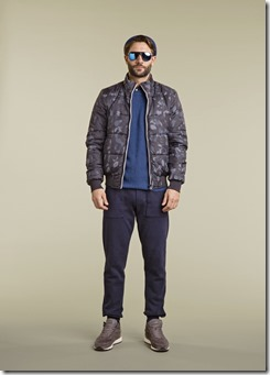 20 - WOOLRICH REVERSIBLE BOMBER MENS FW17 COLLECTION