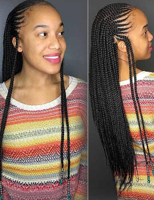 Top 10 Ghana Braids Styles for Women 2018 - Fashion 2D