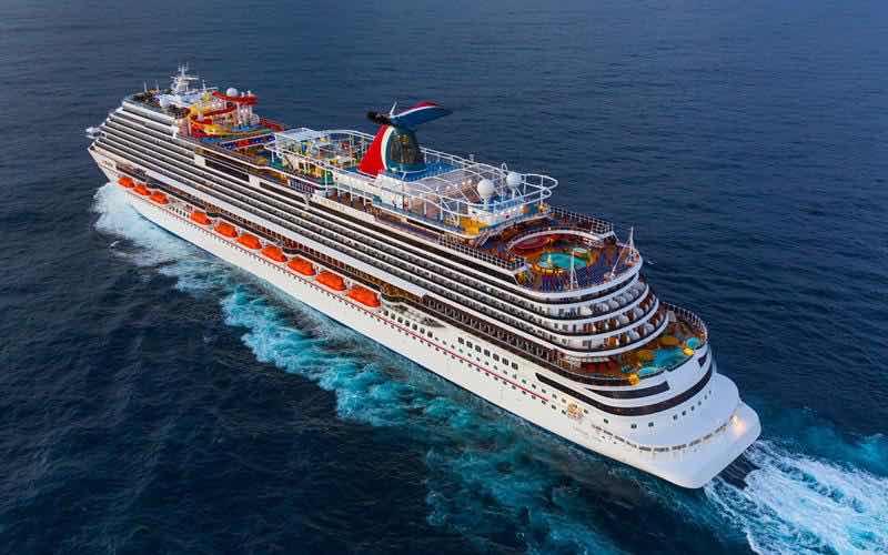 Puertos dominicanos recibirán el crucero más grande de Carnival