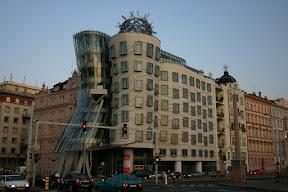 Nationale-Nederlanden Building, designed by Frank Gehry