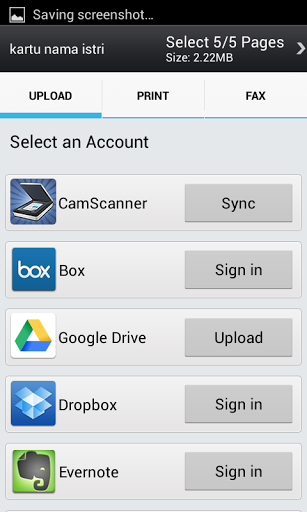 Beberapa Online File Hosting yang disupport
